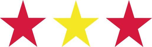 Spain flag stars. Europe vector Stock Images