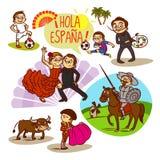 Spain. Flamenco. Corrida. Football. Travelling Stock Image