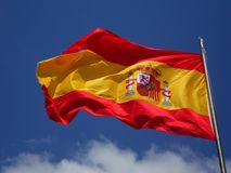 Spain Flasg Stock Image