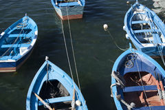 Spain, Galicia, Cee, Fishing Boats Stock Images
