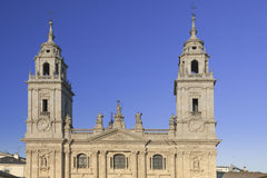 Spain, Galicia, Lugo, Cathedral Stock Image