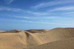 Spain. Gran Canaria island. Dunes of Maspalomas Stock Photo