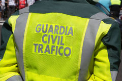 Free Spain Guardia Civil Traffic Officers Stock Photo - 76641020