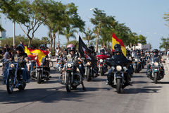 Spain - HOG European Rally 2015 Royalty Free Stock Photos
