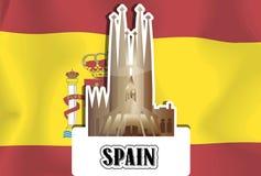 Spain, illustration Royalty Free Stock Image