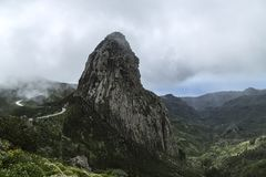 Spain, La Gomera, a walking paradise and UNESCO Biosphere Reserve. Considering La Gomera, a Island from Spain, has long been regarded as one of the most unspoilt royalty free stock image