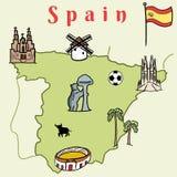 Spain landmarks Royalty Free Stock Photo