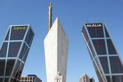 Spain landmarks Stock Photo