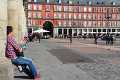 Spain - Madrid Royalty Free Stock Images