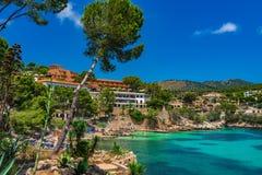 Spain Majorca Beach Cala Fornells Royalty Free Stock Photography