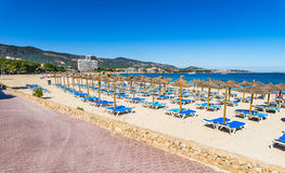 Spain Majorca Beach Palmanova Stock Photos