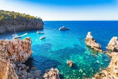 Spain Majorca Cala Deia Royalty Free Stock Photo
