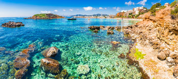 Spain Majorca Cala Portals Nous Stock Photos