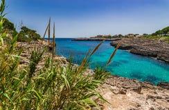 Spain Majorca Coast Landscape Royalty Free Stock Photo