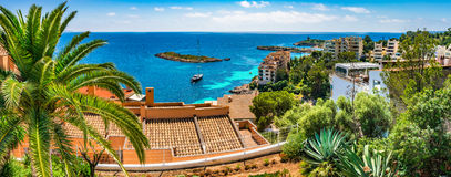 Spain Majorca Coastline Stock Images