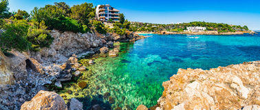 Spain Majorca coastline Stock Image