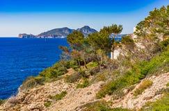 Spain Majorca coastline Stock Photography