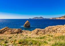 Spain Majorca coastline Royalty Free Stock Images