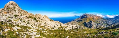 Spain Majorca Mountain Landscape Royalty Free Stock Photos