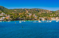 Spain Majorca Port de Andratx Royalty Free Stock Photo