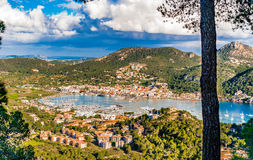Spain Majorca Port de Andratx Royalty Free Stock Images