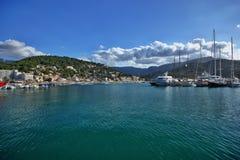 Spain Majorca Port de Soller Royalty Free Stock Photography