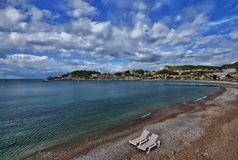 Spain Majorca Port de Soller Stock Photography
