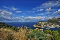 Spain Majorca Port de Soller Royalty Free Stock Photo