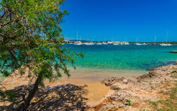 Spain Majorca Porto Colom Stock Image