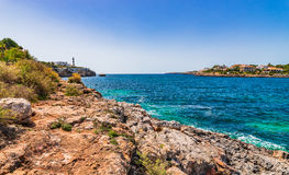 Spain Majorca Porto Colom Royalty Free Stock Images