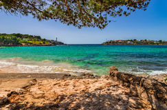 Spain Majorca Porto Colom Stock Photo