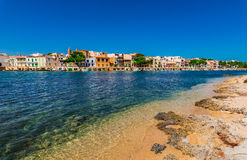 Spain Majorca Porto Colom Stock Photography