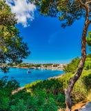 Spain Majorca Portopetro Stock Photo