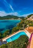 Spain Majorca Seaside Canyamel Stock Image