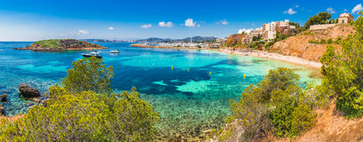 Spain Majorca seaside of Portals Nous Stock Image