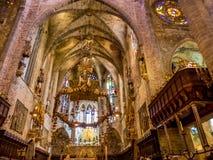 Spain, mallorca, palma, cathedral Stock Photography