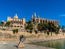 Spain, mallorca, palma cathedral Stock Photo