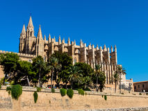 Spain, mallorca, palma, cathedral Royalty Free Stock Images