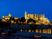 Spain, mallorca, palma, cathedral Stock Image