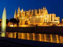 Spain, mallorca, palma, cathedral Royalty Free Stock Photography