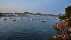 Spain. Mallorca. Santa Ponsa royalty free stock photo