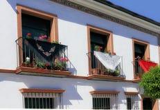 Free Spain Manton De Manila Silk Decorating  Balconies Stock Photography - 144948252