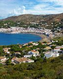 Spain Mediterranean sea village Stock Photos