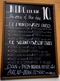 Spain Menu Board Food Royalty Free Stock Photos