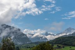 Spain mountains royalty free stock photography