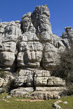 Spain National Park El Torcal de Antequera Royalty Free Stock Photos