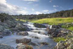 Spain natural landscape Royalty Free Stock Photos