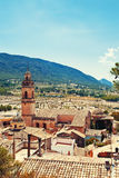 Spain old town Biar Royalty Free Stock Photo
