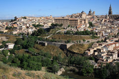 Spain. Old town of Toledo, former capital city of Spain Stock Photography