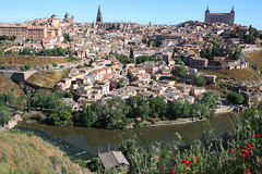 Spain. Old town of Toledo, former capital city of Spain Royalty Free Stock Photos